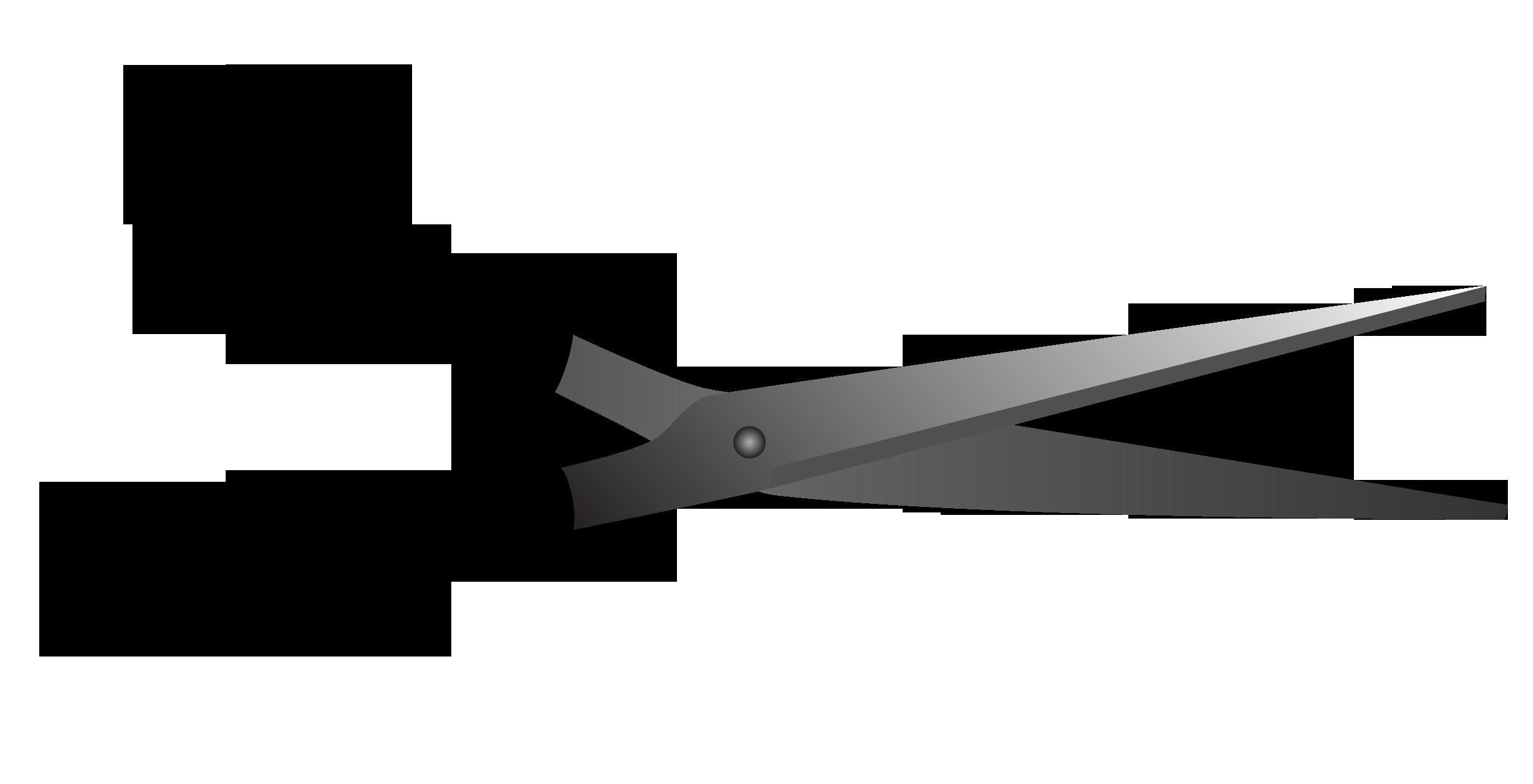 clipart scissors kawaii