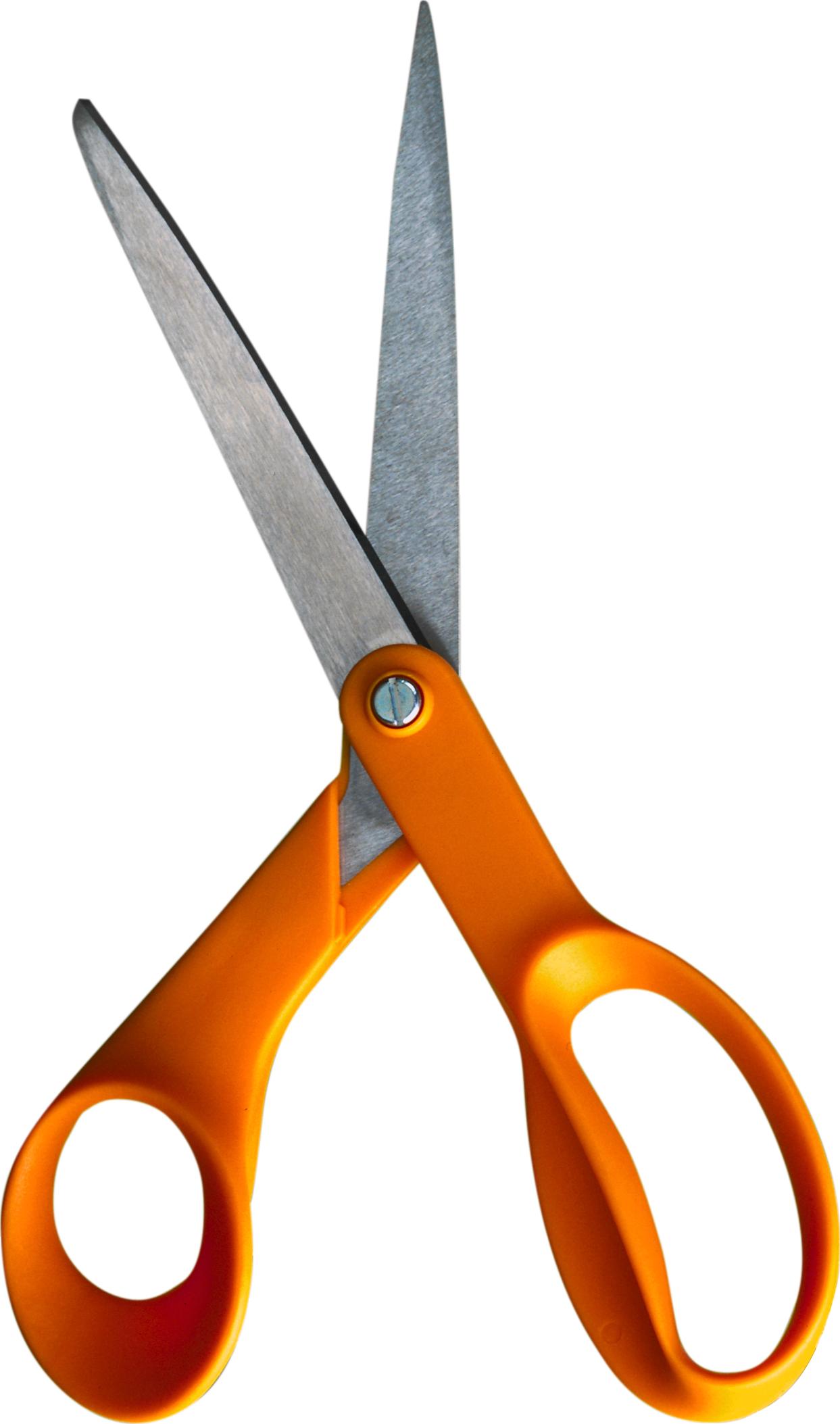 Shears clipart sizer. Scissors png images orange