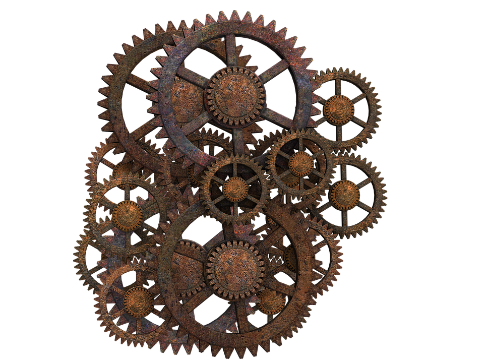 Steampunk clipart file. Download gear hq png