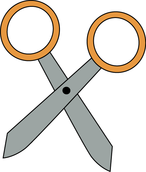 Clipart scissors suply. Free clip art download