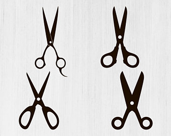 Shears clipart svg. Scissors etsy