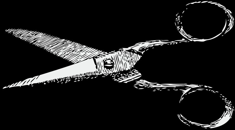 Free stock photo illustration. Clipart scissors transparent background