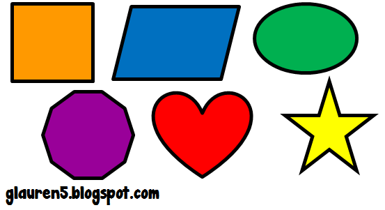 Clip art free basic. Clipart shapes