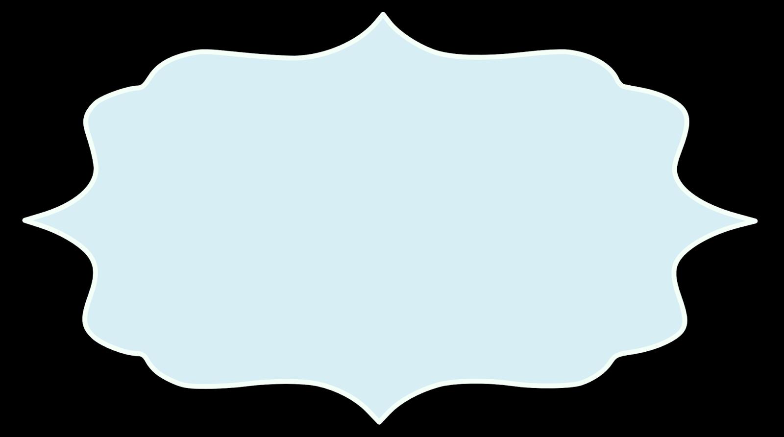 Label clipart fancy.  images of blue
