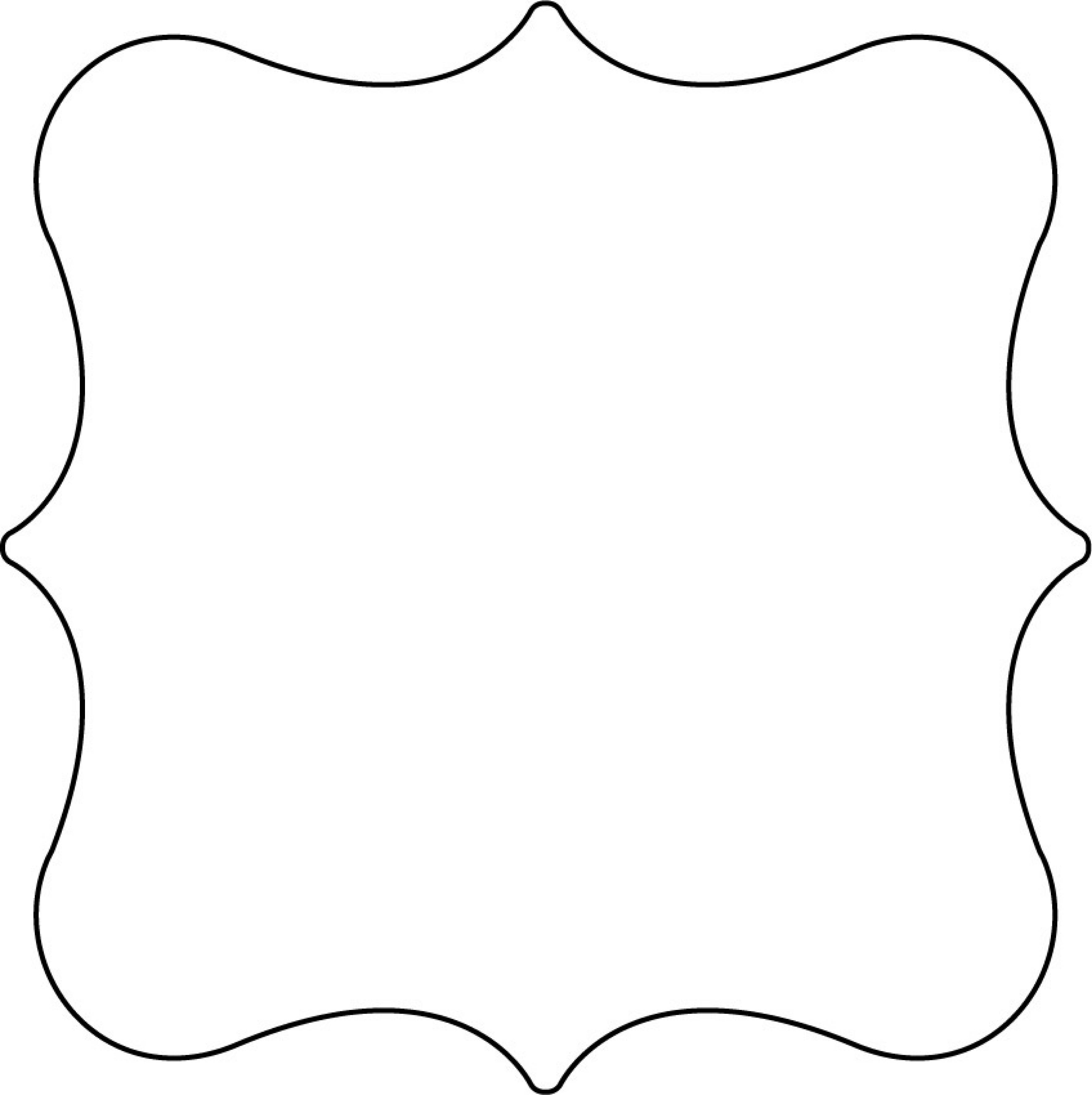 Bracket shape clip art. Label clipart label outline