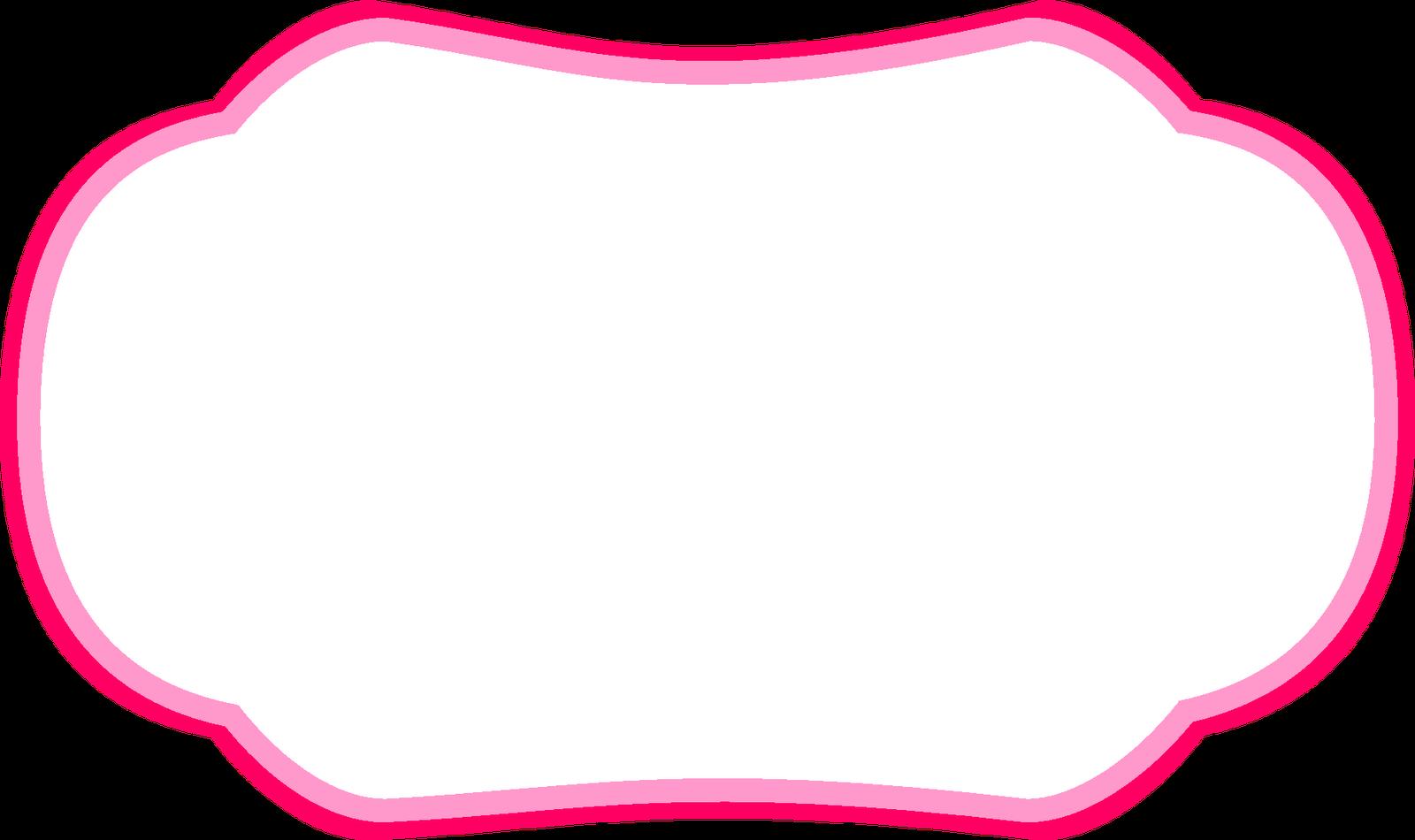 Pink clipart bracket. Frames acessorios para template