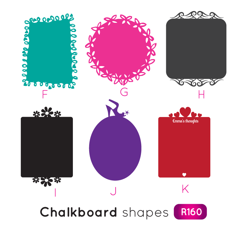 Label clipart chalkboard. Wall decals creative labelscreative