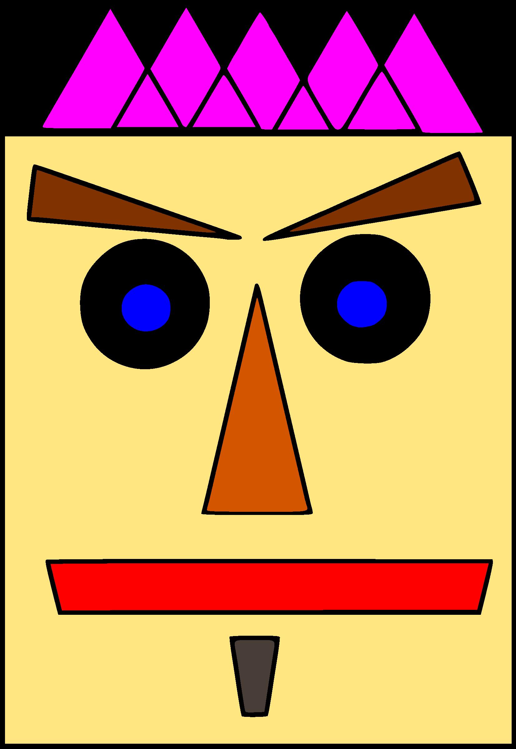 Shapes cartoon