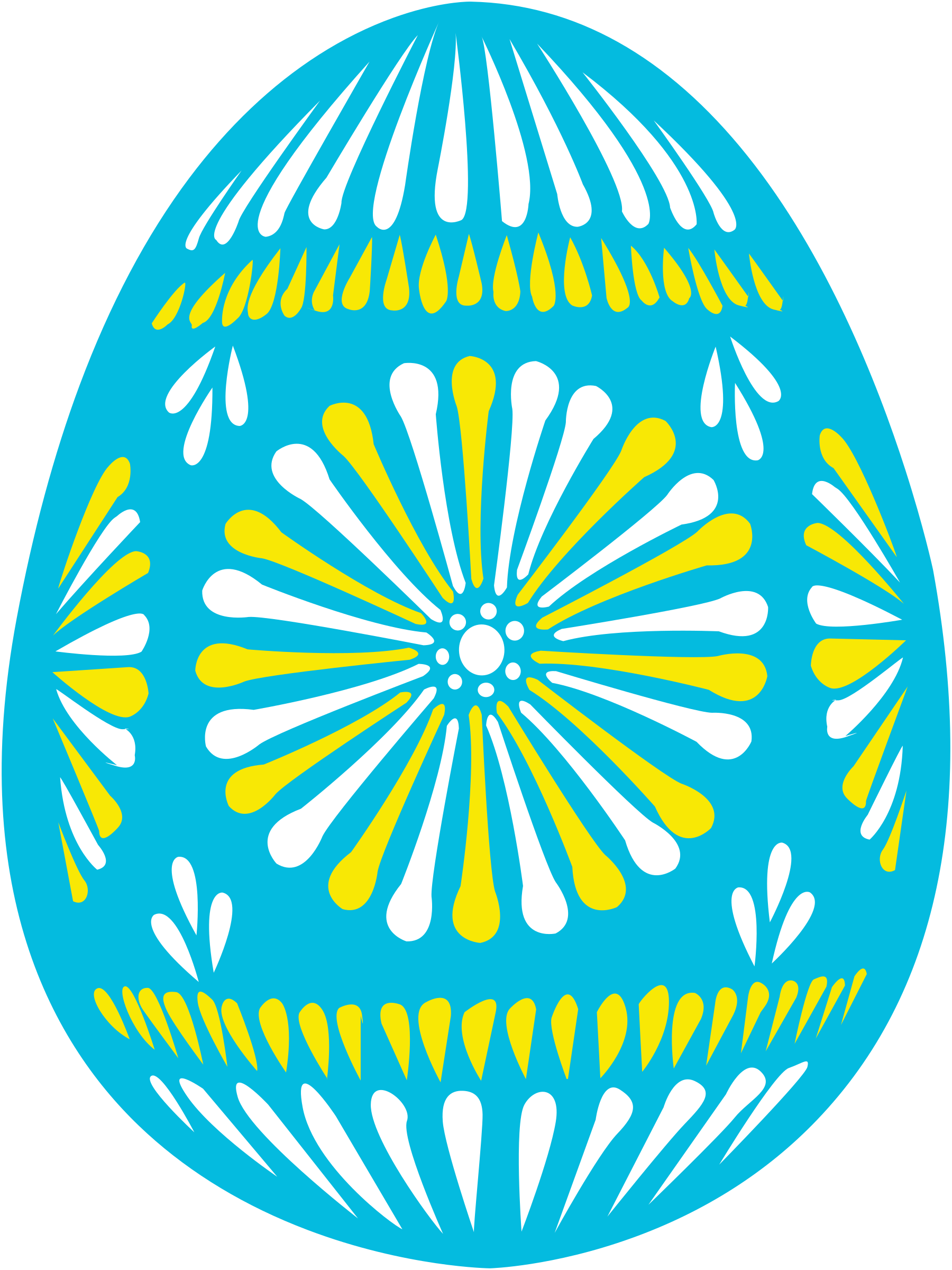 Blue by shokunin eggs. Puzzle clipart easter egg