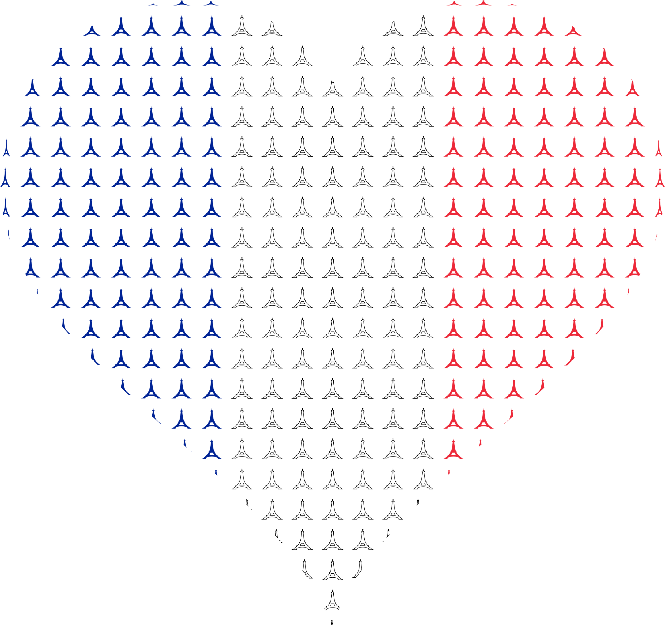 France clipart culture french. Heart flag eiffel tower