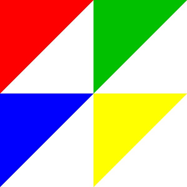 shapes clipart flag