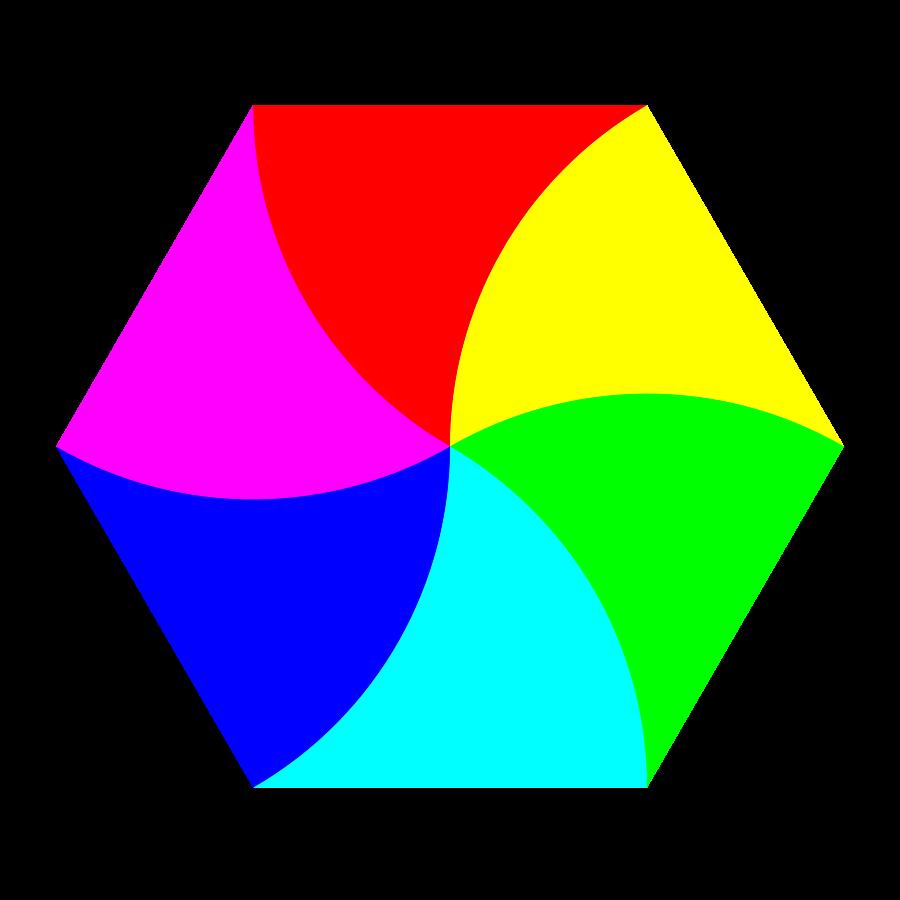 Clipart shapes hexagon. Shape clip art panda