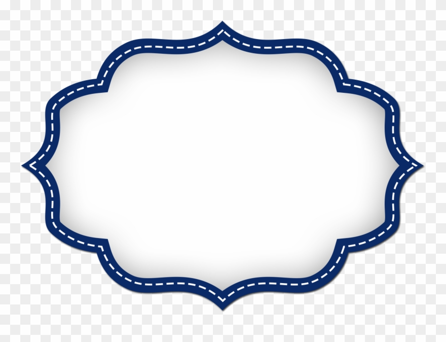 Label clipart printable. Shapes borders and frames