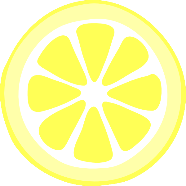 two-tonelemon-slice-hi.png 600×599 pixels | LEMONADE PARTY ...