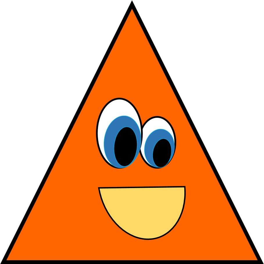 Mittens clipart shape. Shapes group triangle pencil