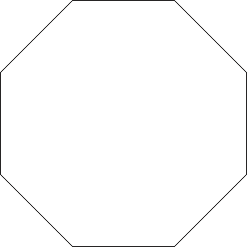 Hexagon clipart octogon. Classifying regular and irregular