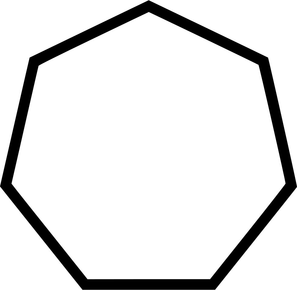 Hexagon clipart octogon. Heptagon octagon mattawa