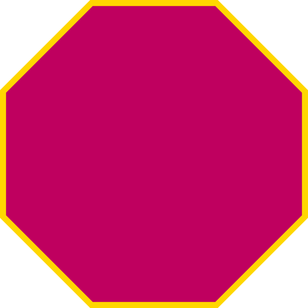Octigon shape pencil and. Purple clipart octagon
