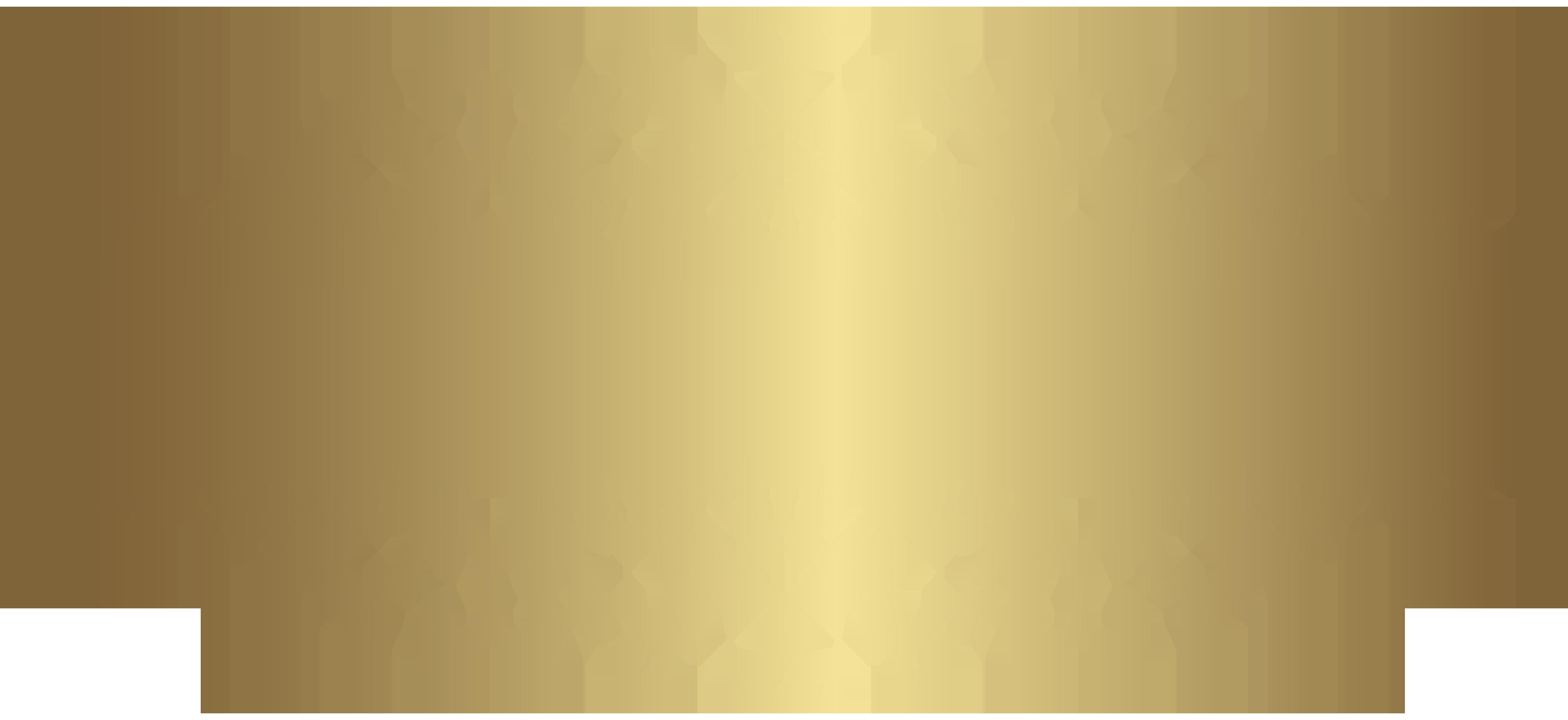 Gold decorative element png. Clipart shapes ornamental