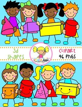 Shapes clipart preschooler.  d kids