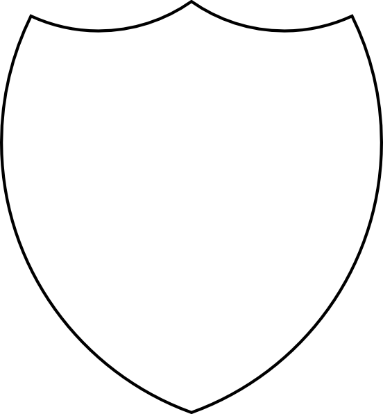 Clipart shield shield outline. Clip art at clker