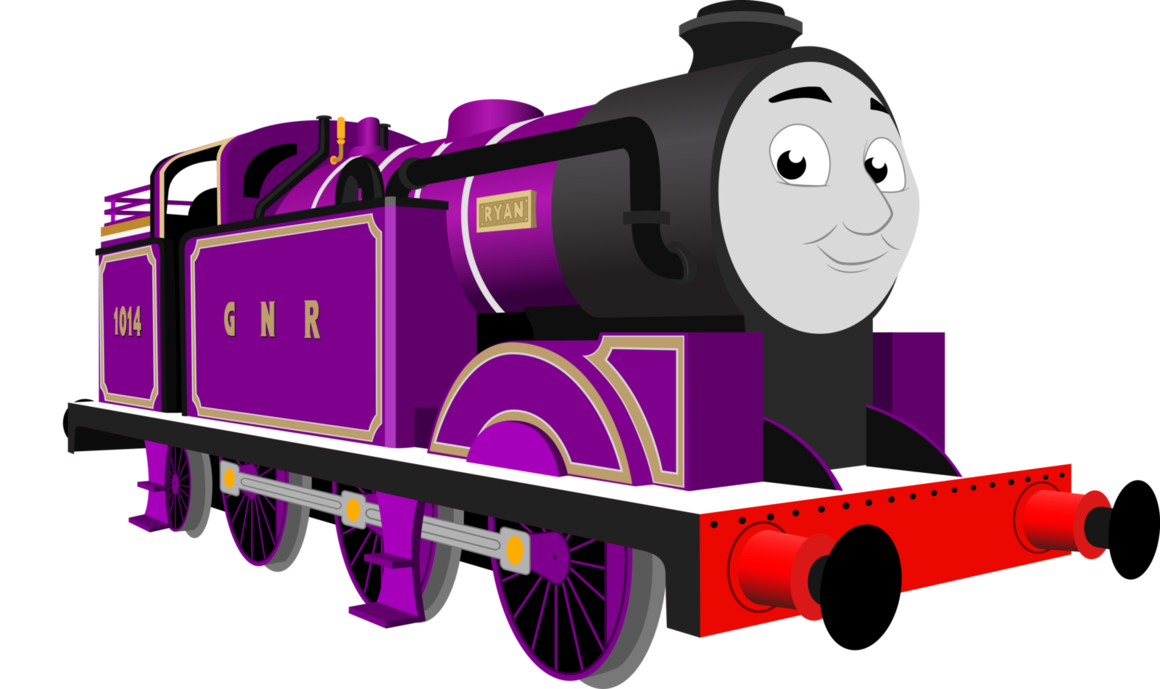 Thomas and friends at. Engine clipart animated train
