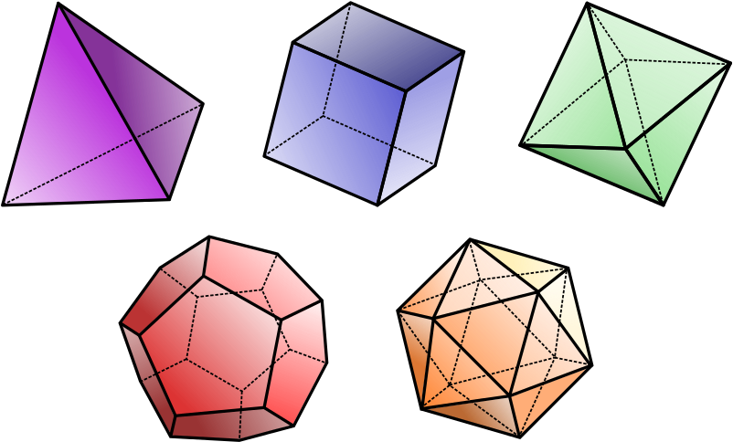 Triangles are the strongest. Square clipart 2d shape