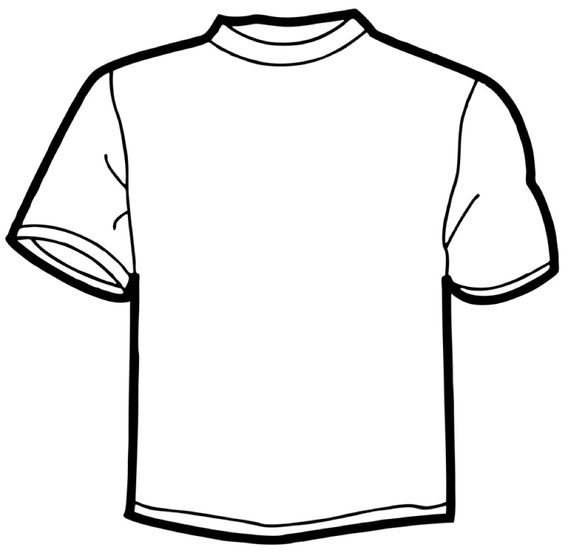 Free t shirt cliparts. Jersey clipart tshirt