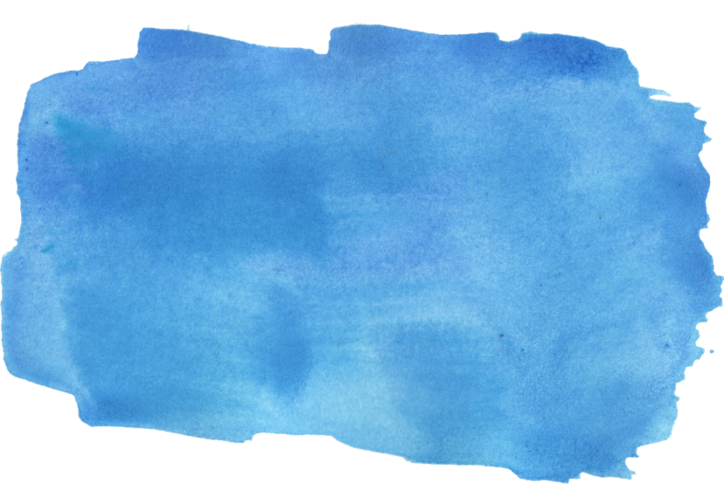 Waves clipart watercolor.  blue brush stroke