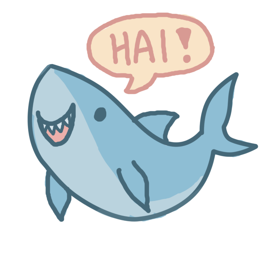 collection of cute. Clipart shark adorable