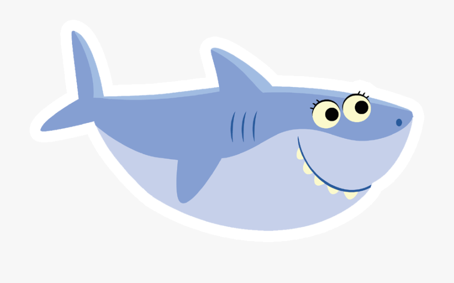 Grandma super simple free. Clipart shark baby shark