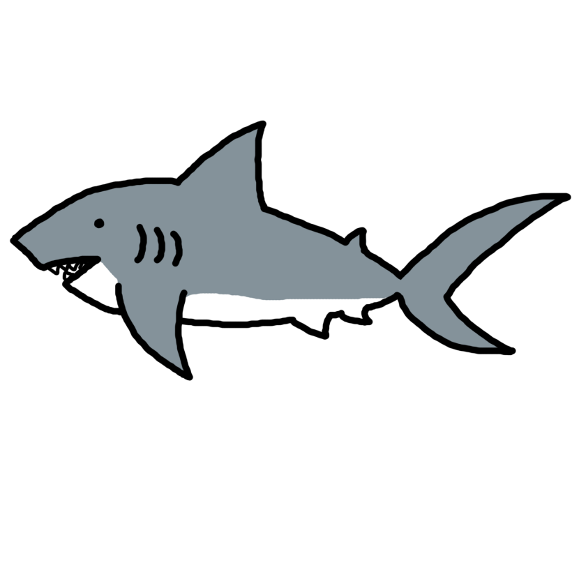 collection of sharks. Clipart shark bitmap