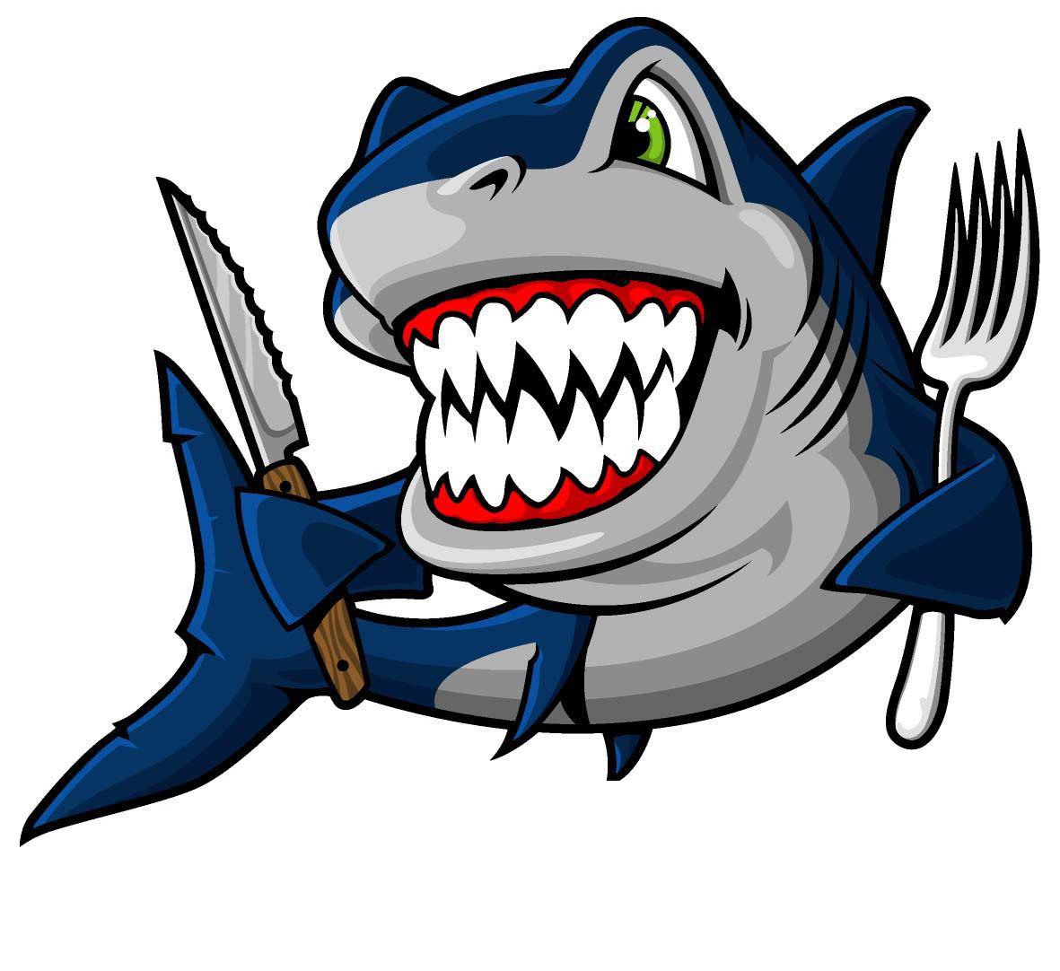 Clipart shark blue shark. Bruce clip art transprent