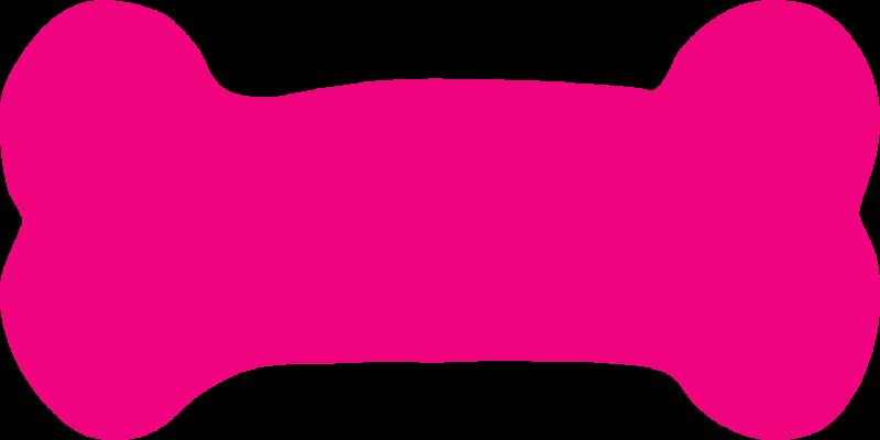 Dog bone crazywidow info. Wednesday clipart pink