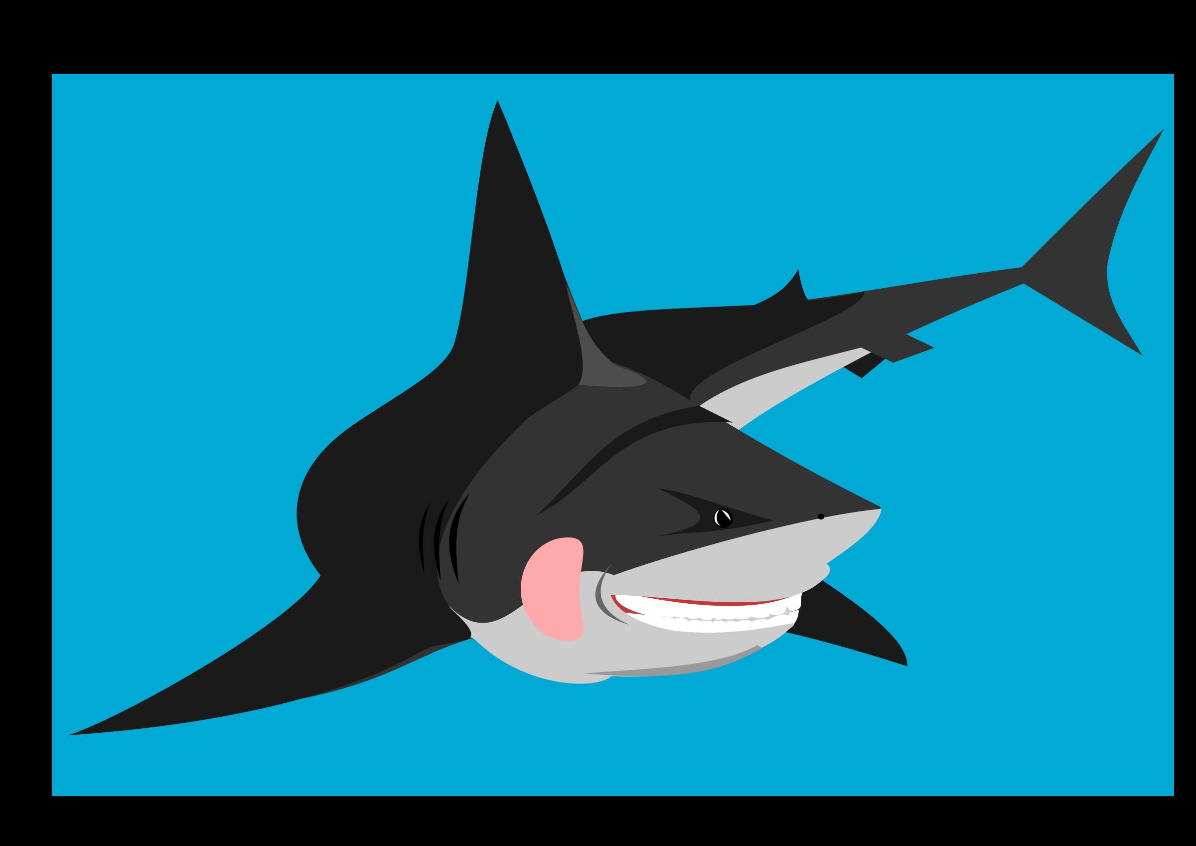 Clipart shark bull shark. Friendly icons png free