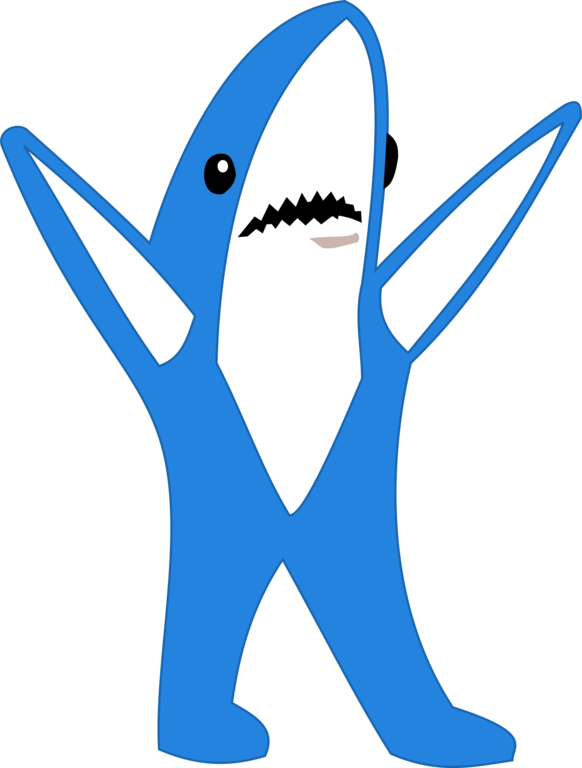 File left png wikimedia. Clipart shark cartoon