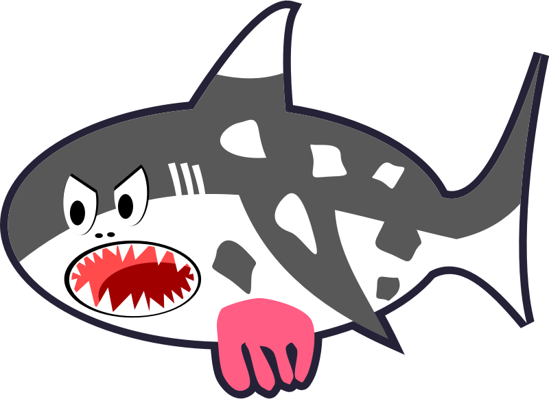 clipart shark eye