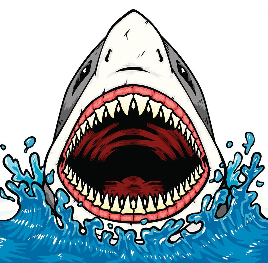Jaws tooth clip art. Clipart shark jaw