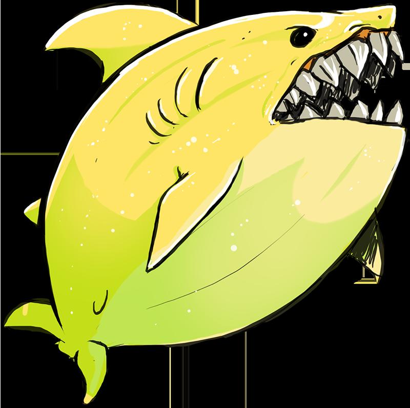 Clipart shark lemon shark. By greyanimebeast on deviantart