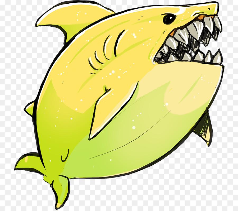 Clipart shark lemon shark. Drawing clip art