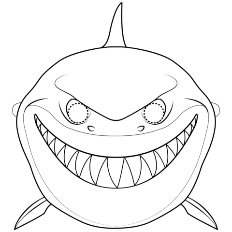 clipart-shark-mask-1 October Newsletter Template Black And White on employee free word, free downloadable preschool, printable downloadable, lds relief society,