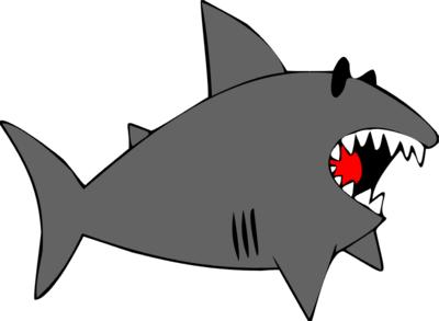 Clip art panda free. Clipart shark mean