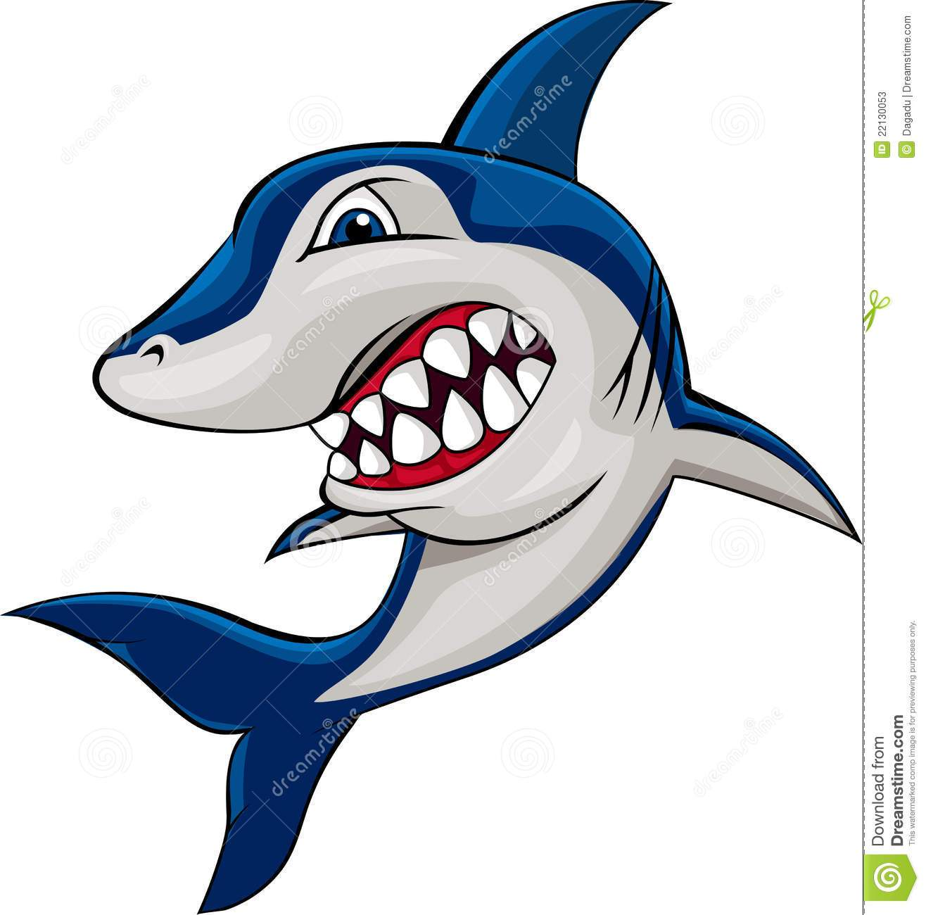 Clipart shark mean. Portal