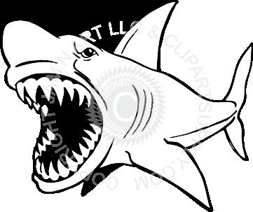 Clipart shark mean. Clip art panda free