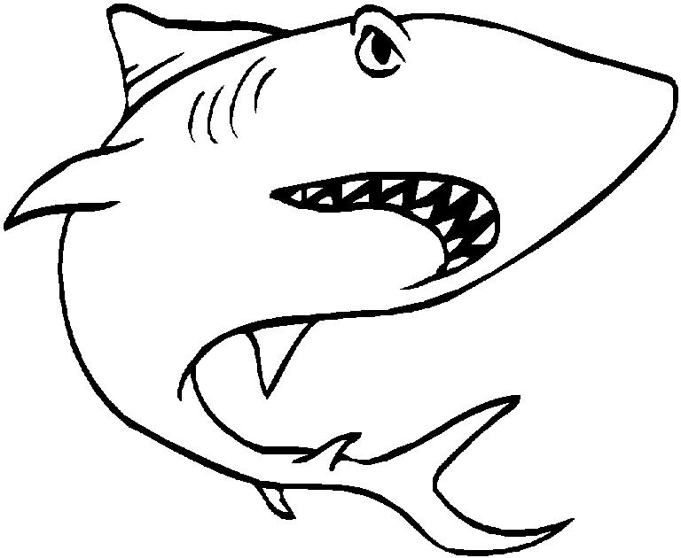 Drawing images at getdrawings. Clipart shark megalodon shark