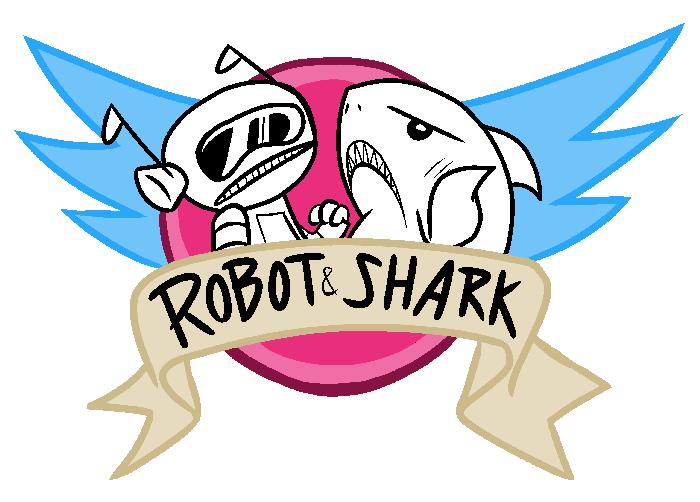 And . Clipart shark robot