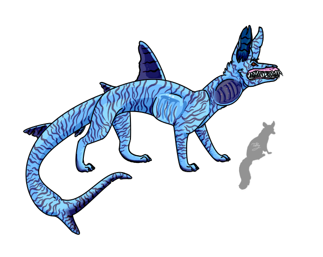 Clipart shark side view. Jace the tiger fox