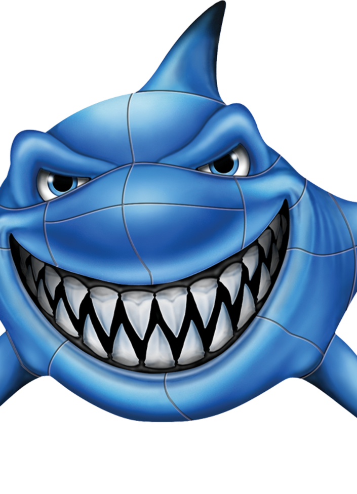 Clipart shark side view. Little tile inc online