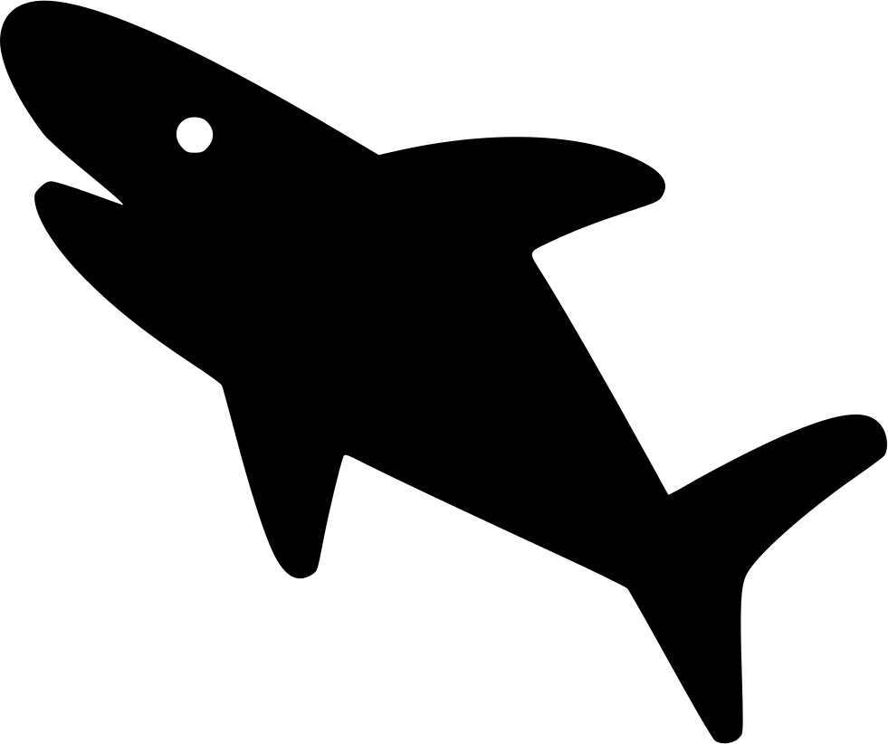 Computer icons clip art. Clipart shark tail