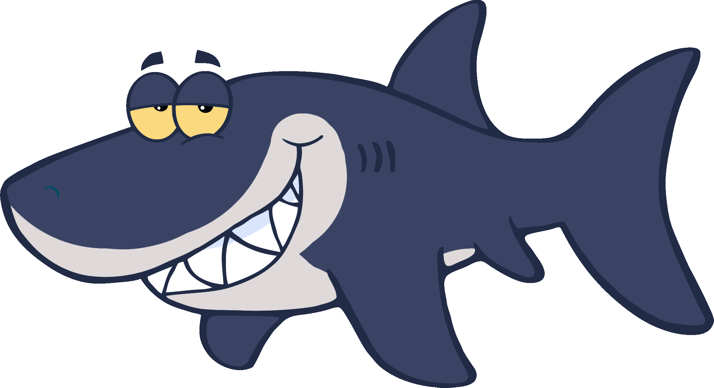 Clipart shark tail. Cartoon royalty free clip